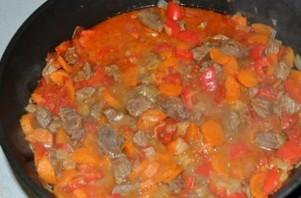 Рагу из баранины с овощами   - фото шаг 4