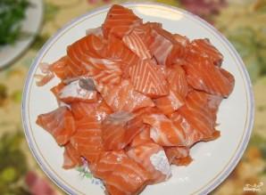 Тальятелле с лососем - фото шаг 1