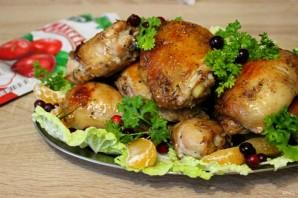 """Запеченные куриные окорочка в маринаде с клюквенным джемом """"Махеевъ"""" - фото шаг 7"""