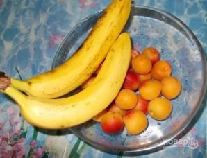 Сметанный торт без выпечки с фруктами - фото шаг 1
