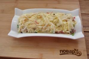 Салат из печени трески с яблоками - фото шаг 4