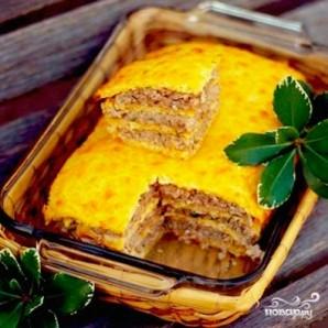Слоеный сырный пирог с куриным фаршем - фото шаг 12