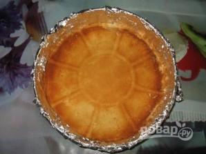 Торт из готовых бисквитных коржей - фото шаг 2