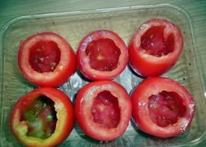Фаршированные помидоры рыбой - фото шаг 1