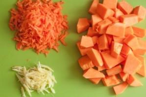Вегетарианский суп-пюре из тыквы - фото шаг 1