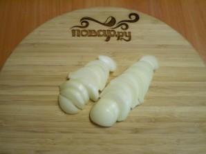 Тушеные куриные желудочки - фото шаг 2