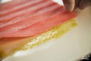 Карпаччо из тунца - фото шаг 3