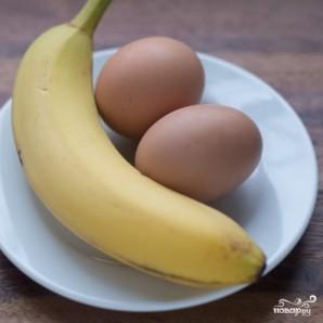 Банановые оладьи - фото шаг 1