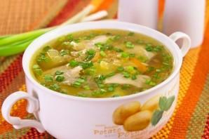 Куриный суп с чечевицей - фото шаг 6