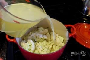 Сливочный суп с цветной капустой - фото шаг 4