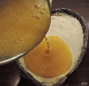 Чизкейк с персиками - фото шаг 18