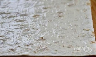 Сырный рулет в лаваше - фото шаг 6