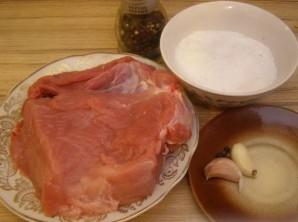 Мясо в духовке в фольге - фото шаг 1