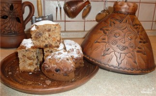 Пирог с орехами и сухофруктами - фото шаг 10