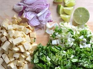 Овощной суп с карри - фото шаг 1