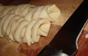 Печенье из слоеного бездрожжевого теста - фото шаг 3