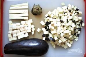 Салат с луком-порей - фото шаг 2