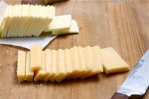 Картофельный веер с сыром - фото шаг 4