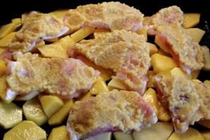Пангасиус с картофелем в духовке - фото шаг 3