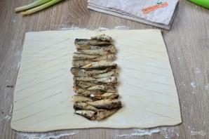 Пирог со шпротами - фото шаг 3