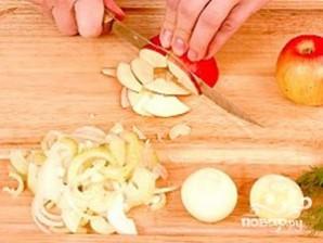 Салат с красным сладким перцем - фото шаг 4