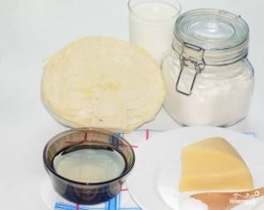 Пирог с капустой заливной на кефире - фото шаг 1