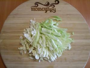 Вегетарианские щи из свежей капусты - фото шаг 2