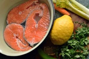 Cтейк из рыбы в духовке - фото шаг 1