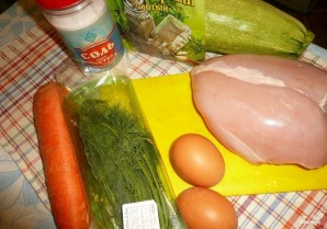 Куриные котлеты с морковью - фото шаг 1