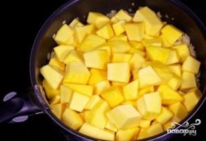 Тыквенный суп-пюре с рисом - фото шаг 3