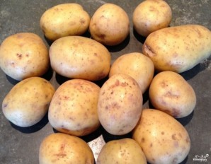 Картофель фри во фритюрнице - фото шаг 1