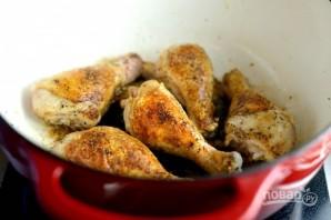 Тушёная курица с овощами - фото шаг 5