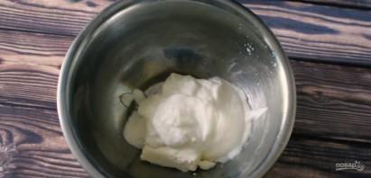 Творожный ПП десерт с клубникой - фото шаг 2