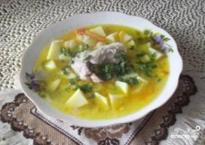 Суп на говяжьем бульоне - фото шаг 7