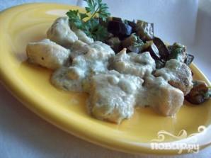 Куриное филе в соусе из сливок и сыра дор-блю - фото шаг 6