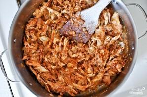 Жаркое из курицы, фасоли и овощей - фото шаг 3