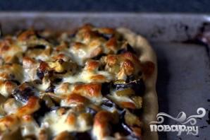 Пицца с баклажанами и оливками - фото шаг 4