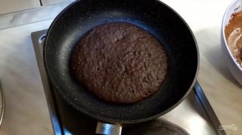 Американские шоколадные блины - фото шаг 4