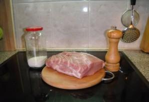 Свинина с картошкой в рукаве - фото шаг 1