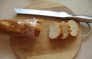 Маленькие бутерброды с икрой - фото шаг 1