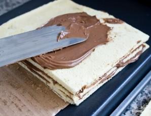 Бисквитный торт с шоколадом - фото шаг 19