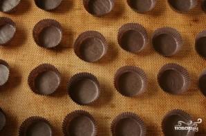 Шоколадные пирожные с шоколадным кремом - фото шаг 1