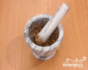Баранина, запеченная с чесноком и травами - фото шаг 1