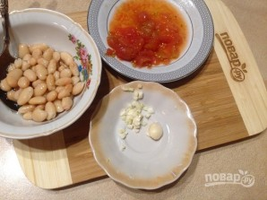 Суп с фасолью и шпинатом - фото шаг 4