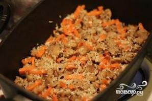 Плов по-вегетариански - фото шаг 4