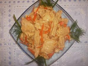 Салат из соевого мяса - фото шаг 4