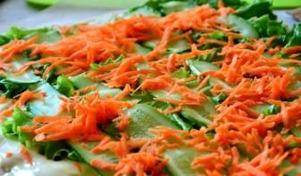 Шаурма с морковью - фото шаг 4