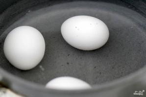 Бутерброды с яйцом - фото шаг 1