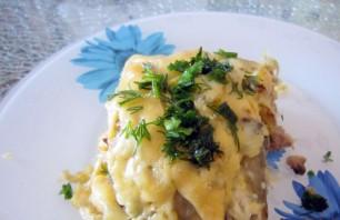 Грибы с фаршем и картошкой - фото шаг 5
