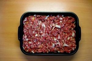 Мясная запеканка с картофелем - фото шаг 6